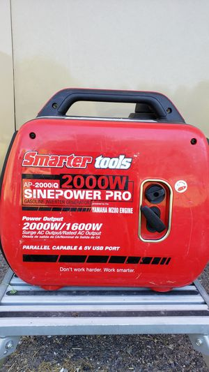 2000W portable generator, Honda engine, highly rated for Sale in Bozeman, MT