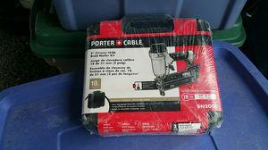 Porter-Cable nail gun 18 gauge brand new bn200c for Sale in Marietta, GA