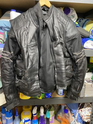 Milwaukee Leather Men's Motorcycle Jacket for Sale in San Diego, CA