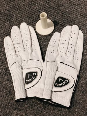 Golf gloves and rubber tee for Sale in Campbell, CA