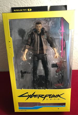McFarlane Cyberpunk 2077 The 'V' 7' Action Figure for Sale in Clovis, CA
