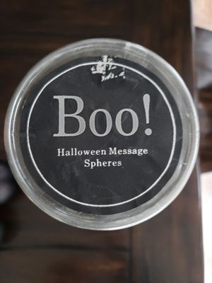 Boo! Halloween Message Spheres for Sale in Stanwood, WA