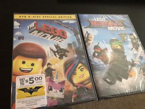 Free New The Lego DVD 's Movies for Sale in Rockville, MD