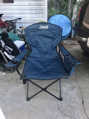 Coleman extra wide outdoor folding chair for Sale in Apopka, FL