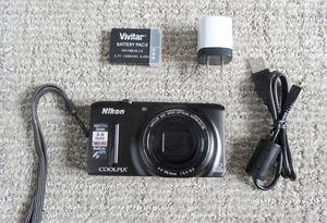 Digital Camera Nikon Coolpix. Like NEW.Wifi. GPS.18.3 mpx.22x zoom.Full HD video resolution - $99 (Saint Paul) for Sale in Saint Paul, MN