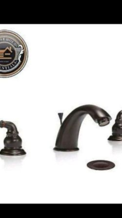 "8"" Oil Rubbed Bronze Widespread Bathroom Faucet with Drain......... CHECK OUT MY PAGE FOR MORE ITEMS for Sale in Baltimore,  MD"