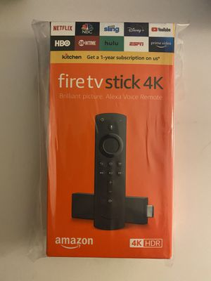 Fire TV stick 4K with Alexa remote (latest release) for Sale in San Gabriel, CA
