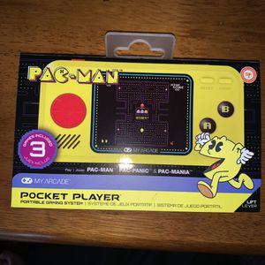NEW Pac-Man Arcade Handheld Gaming Console Toy Pac Man Pacman for Sale in Trenton, NJ