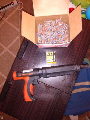 Ramset nail gun for Sale in Ruston, WA