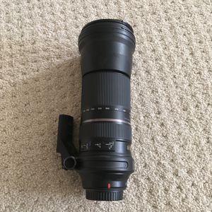 Tamron SP A011 150-600mm f/5-6.3 VC Di USD Lens For Canon for Sale in Santa Monica, CA