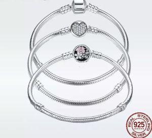 Luxury 100% 925 Sterling Silver Charm Bracelet for Sale in Wichita, KS
