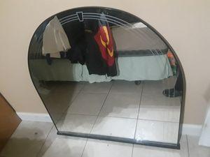 Black Bedroom mirror for Dresser for Sale in Hialeah, FL