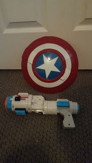 Toy for boy (captain America) for Sale in Maricopa, AZ