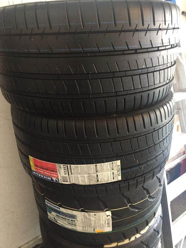 Michelin Pilot Super Sport Tires X2