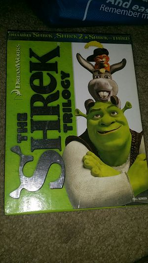 Shrek trilogy box set DVD movies for Sale in Long Beach, CA