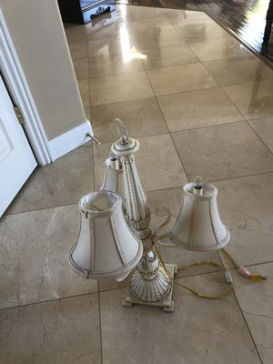 Two Lamps for Sale in Rancho Cucamonga, CA