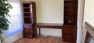 Basset desk and bookshelves for Sale in Hayward, CA