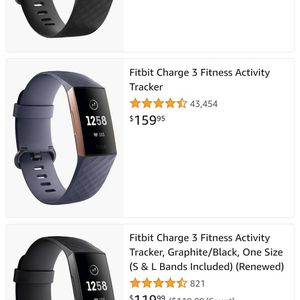 Brand New Fitbit Charge 3 for Sale in Eunice, NM
