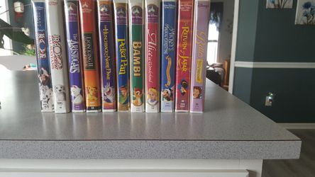 ELEVEN WALTDISNEY VHS for Sale in Millsboro,  DE