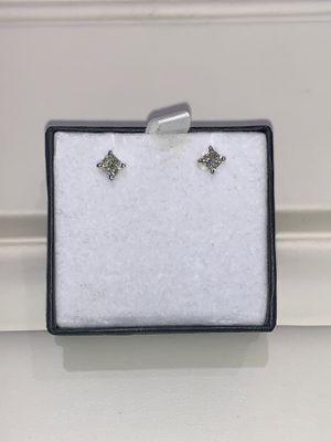 18kt White Gold Diamond Stud Earrings for Sale in Scottsdale, AZ