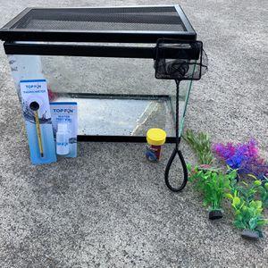 Fish Tank Starter Kit for Sale in Sacramento, CA