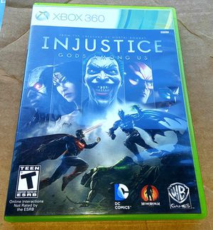 Xbox 360 Injustice video game. for Sale in Orlando, FL