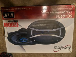 Supersonic Sc-6905 Brand New 6x9 Car Audio for Sale in Kansas City, MO