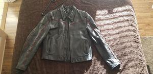 Men's 100% Leather Motorcycle Jacket for Sale in Atlanta, GA