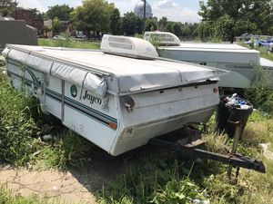 2 campers for sale , got both titles and don't let where it's at fool you , everything works fine , just in need of a wash, maybe power wash perhaps for Sale in Philadelphia, PA