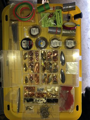 Make your own fishing lures, spinners, cow bells, etc for Sale in Peoria, AZ