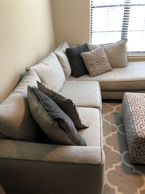 Grey Sectional Couch - Great Condition for Sale in Atlanta, GA