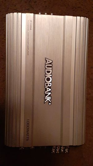 Audiobank 4 channel high power amp 1000 watts for Sale in TEMPLE TERR, FL