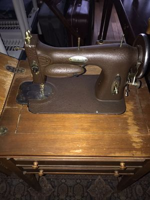 Antique sewing machine table for Sale in Columbus, OH