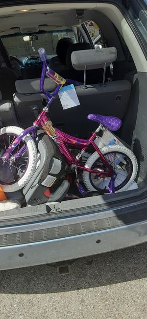 Brand new little girls bike with tags still on it asking 40 number is {contact info removed} for Sale in Tampa, FL