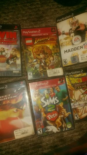 PlayStation 2 games for Sale in Wasco, CA