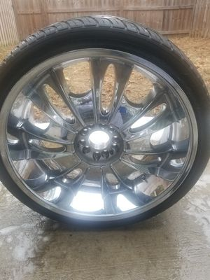 22 inch rims for Sale in Williamsburg, VA