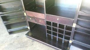Rare moaghony bar on wheels FREE DELIVERY for Sale in Atlanta, GA