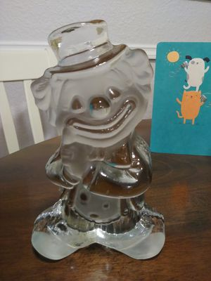Collectible Glass Clown for Sale in Puyallup, WA