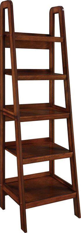 Ladder style Shelf, Dark Espresso for Sale in McKinney, TX