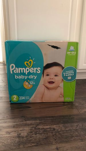 Pampers Baby Dry Size 2 for Sale in Mission Viejo, CA