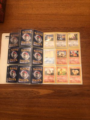Binder of vintage pokemon cards for Sale in Kennewick, WA