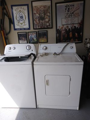 Washer (Amana) and dryer ( whirlpool) for Sale in North Highlands, CA