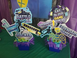 Fortnite party supplies for Sale in Spring, TX