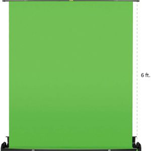 Collapsible Green Screen for Photography Video YouTube Blogging $145 for Sale in Chino Hills, CA