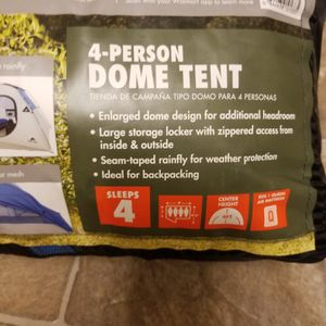 4 Person Dome Tent for Sale in University Place, WA