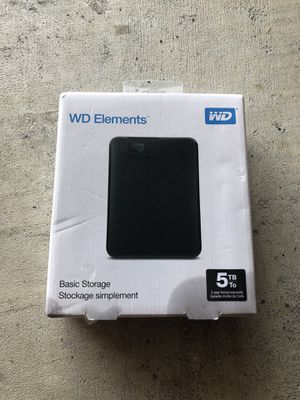 5 TB BASIC STORAGE for Sale in Houston, TX