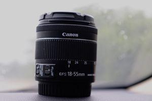 18-55mm canon lense for Sale in Dallas, TX