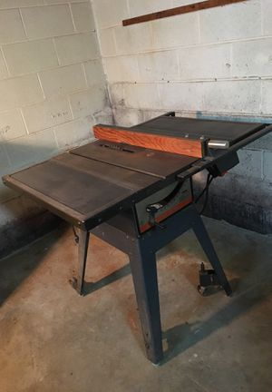 Craftsman Table Saw for Sale in Wheaton-Glenmont, MD