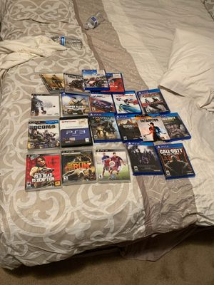 PS3/ps4 games for Sale in Fallbrook, CA
