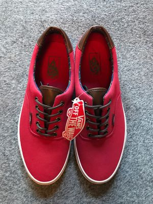 Vans Era Red And Brown Size 11 for Sale in Santa Ana, CA